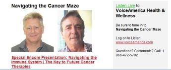 Navigating the Cancer Maze Prof mark Smyth & dr Bruce Whelan