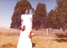 My wedding day 28 Feb 1976 - 21 years and full-time carer