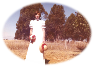 Me on my wedding day February 1976 when Ian Gawler was given 6 weeks life expectancy.